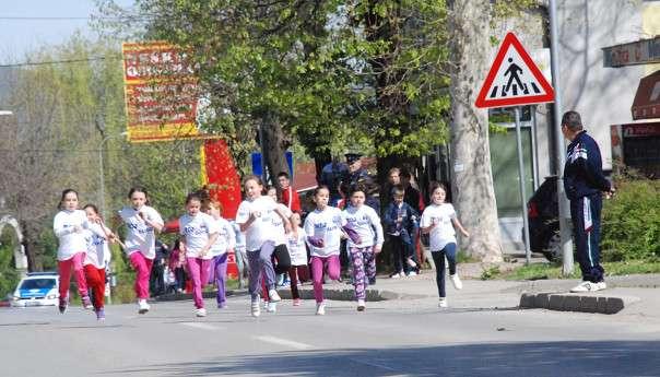 Ulična trka učenika osnovnih škola