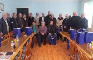 Prijem za 27 opštinskih penzionera
