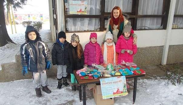 Djeca iz vrtića u humanitarnoj akciji