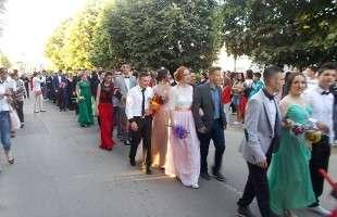 Svečani defile kotorvaroških maturanata
