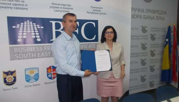 Општина Котор Варош добила потврду о сертификацији