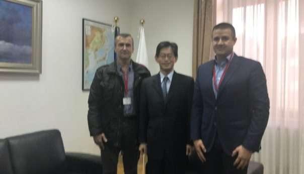 Начелник Сакан у посјети амбасадору Јапана у БиХ