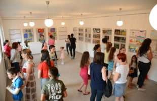 Otvorena izložba dječijih radova