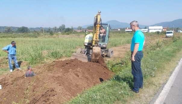 Počeli radovi na izgradnji vodovoda prema Zabrđu