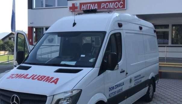 Dom zdravlja dobio moderno sanitetsko vozilo