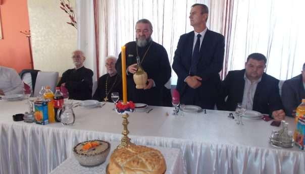 Служена литургија у Храму Рођења Пресвете Богородице