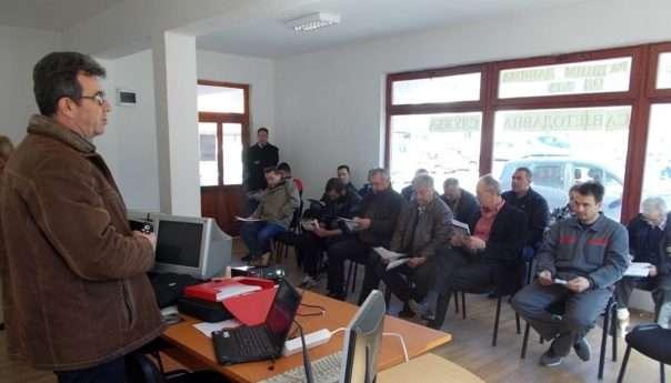 Распоред стручних предавања у Едукативном центру у Ободнику