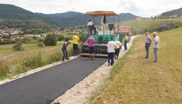 За асфалтирање путева у Масловарама издвојено 97.000 КМ