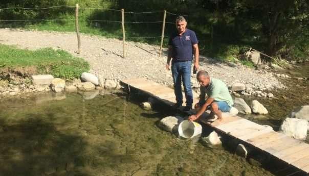 Poribljene rijeke Jakotina i Cvrcka