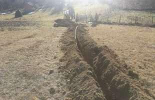 Završni radovi na izgradnji vodovoda u Vaganima
