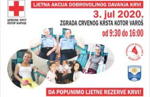 Sutra akcija dobrovoljnog davanja krvi