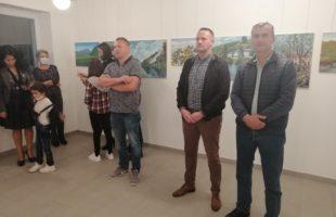 Отворена изложба слика Ликовне колоније
