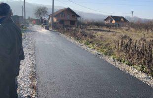 Završena modernizacija puta u naselju Topolje