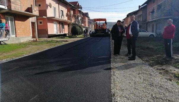 Asfaltirane ulice na Novom Naselju